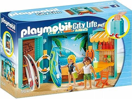 Playmobil Cofre Tienda Surf única 5641