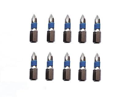 in acciaio speciale antiurto nichelato jjw-Germany 10/pezzi phillips professionale punte Phillips PH 0/X 25/mm