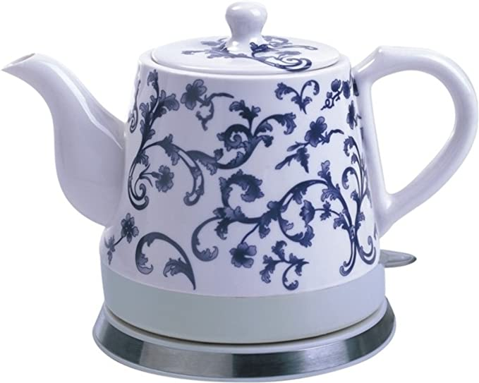 FixtureDisplays Ceramic Electric Kettle Water Boiler Tea Maker15001 on