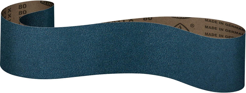 P40 Klingspor CS 411 X Sanding Belt Fabric Sanding Belts 10 Piece Premium Set 40 x 760 mm Two Belts of Grit P36 P80 P120 P60