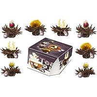 Creano ErblühTeelini mieszanka herbat rozkwitających w ekskluzywnym formacie filiżanki - zestaw do degustacji - 8…
