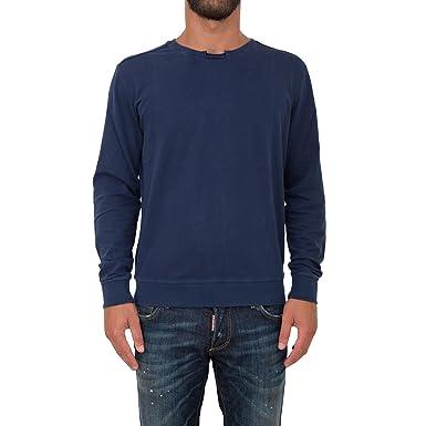 GUESS Jeans M62Q03K4JS0 Sudadera sin Cremallera Hombre Azul G720 S