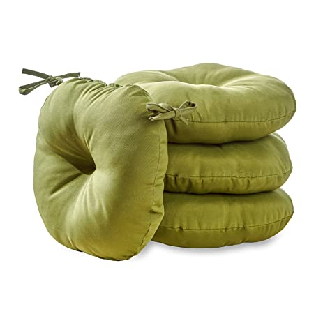 Round Outdoor Bistro Chair Cushion (set Of 4)