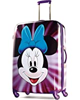 American Tourister Disney Minnie Mouse Face Hardside Spinner 28