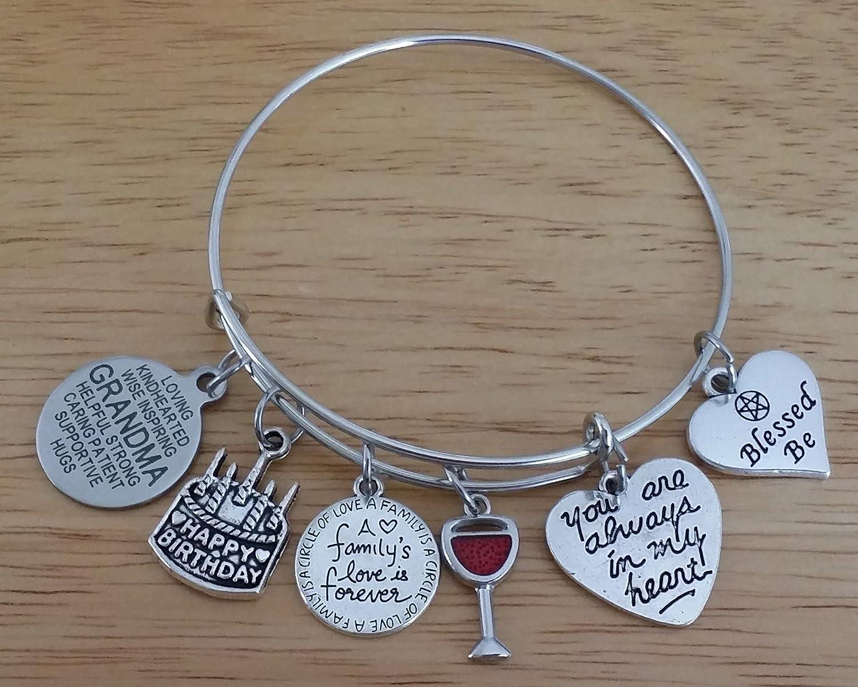 Amazon.com: Grandma pulsera, Grandma joyas, regalo de ...