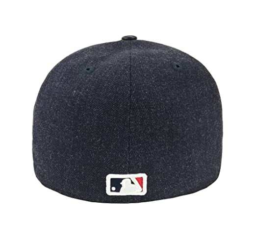 6c5a10c7402ad Amazon.com  New Era 59Fifty Hat Boston Red Sox Pin 8X MLB Navy Blue  Official Team Color Cap  Clothing