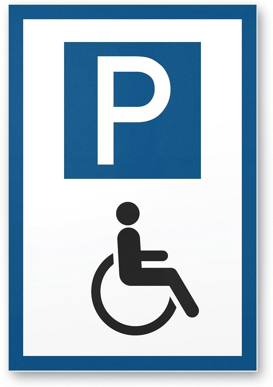 - Parking Sign For Disabled Disabled Parking Plastic Sign 20 X 30 Cm