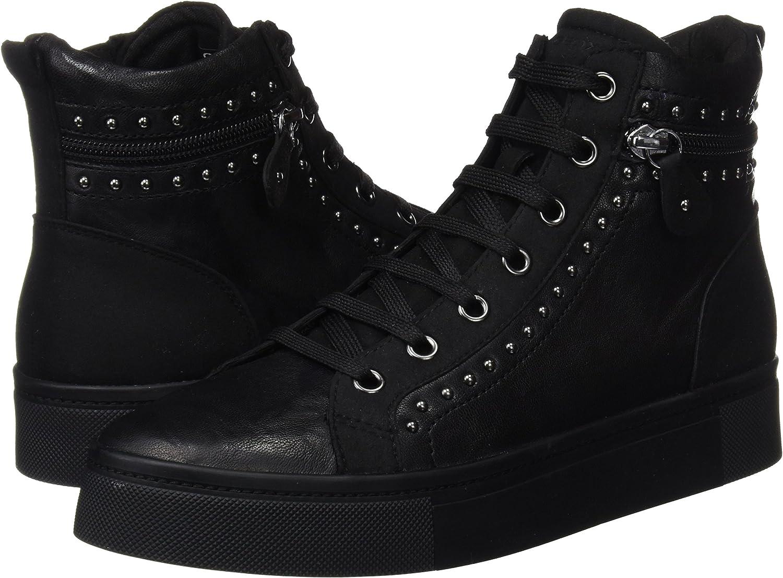 Geox Women/'s D Hidence a Hi-Top Sneakers