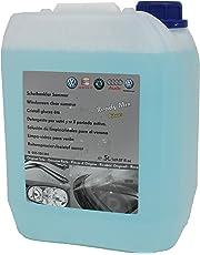 Original VW Audi Liquido Limpiacristales parabrisas Mezclado fragancia Limón en 5 litros