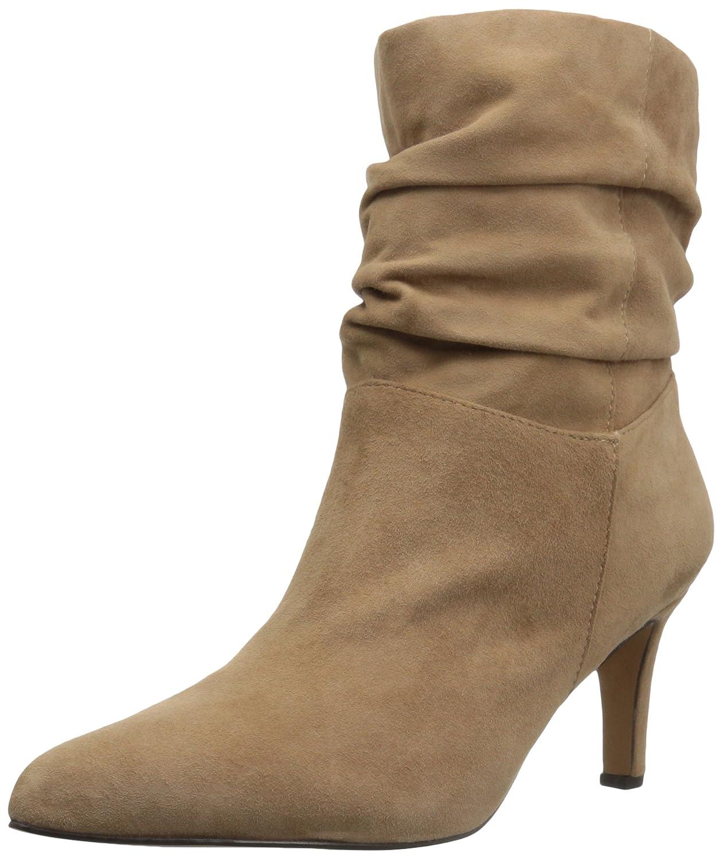 ADRIENNE VITTADINI Footwear Women's Shanta Ankle Boot B0725WXL52 7 B(M) US|Biscuit