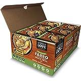 Kitchen & Love Artichoke, Lemon & Roasted Garlic Farro Meal 6-Pack | Vegan, Ready-to-Eat, No Refrigeration Required