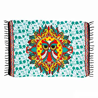 a6f9f23712c5 Canga Mandala Coruja: Amazon.com.br: Amazon Moda