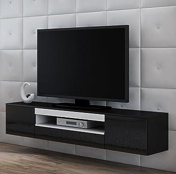 Tv Schrank Viva Tv Lowboard Hochglanz Hängen Oder Stand Amazon