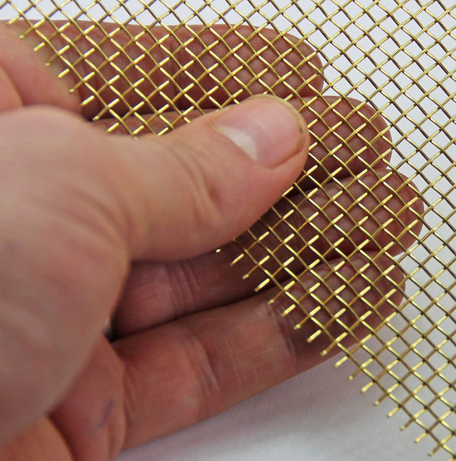 Fine Filter Stainless Steel Mesh 50 LPI x 0.31mm Hole x 0.2mm Wire 1 x 1.2 Metre