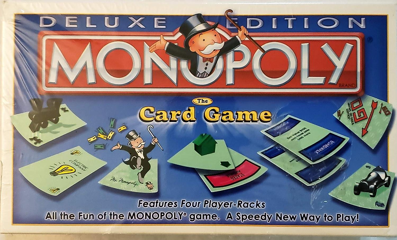 Juego de cartas Monopoly Deluxe Edition: Amazon.es: Hogar