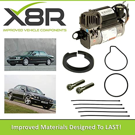 Amazon.com: JAGUAR XJ SERIES WABCO AIR SUSPENSION COMPRESSOR PISTON RING REPAIR FIX KIT X8R45: Automotive