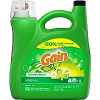 Gain + Aroma Boost Liquid Laundry Detergent, Original, 96 Loads, 4.43 L