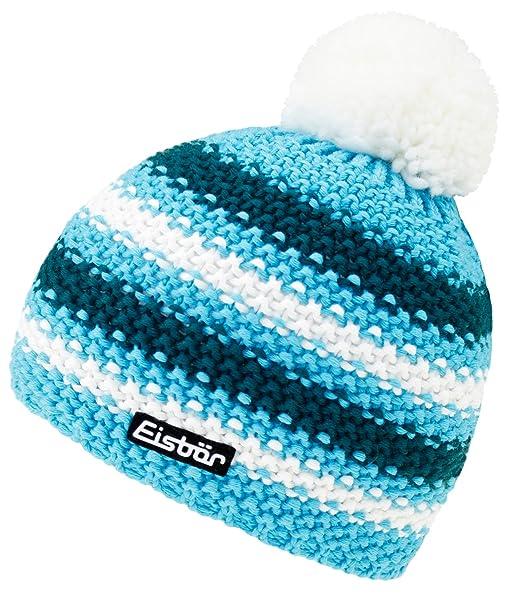 dc09640ebb84c EveryHead Eisbär Sombrero De Bobble Para Niño Gorra Con Borla Gorro Borlas  Punto Invierno Lana Productos