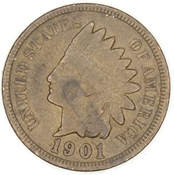 0af5bc7ccbfc5 1901 Indian Head Cent / Penny