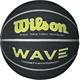 Wilson Wave Phenom Black/Lime basketball, Official Size