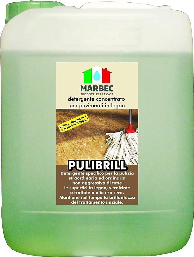 11 opinioni per Marbec- PULIBRILL 5LT   Detergente concentrato specifico per pavimenti in legno