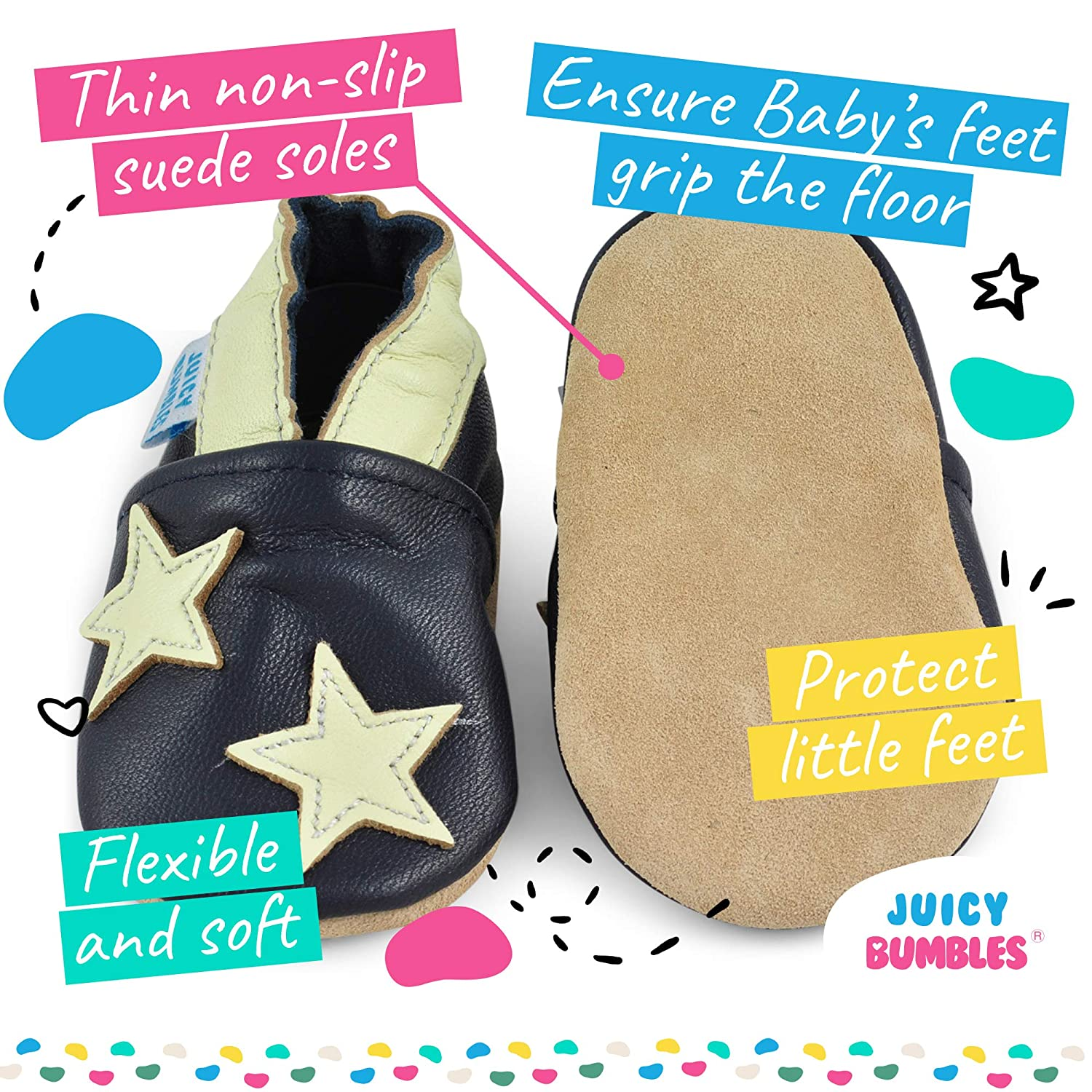 Leather Toddler Shoes Baby Shoes with Soft Sole Baby Walking Shoes Baby Girl Shoes Baby Boy Shoes