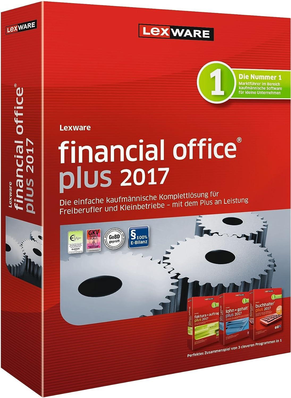 Lexware financial office 2017 plus-Version Minibox (Jahreslizenz ...