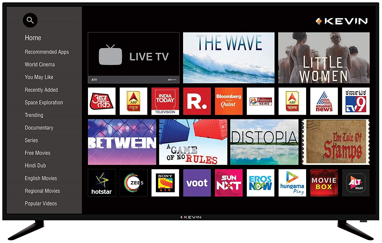4K UHD Kevin (55 inches) LED Smart TV KN55UHD-PRO