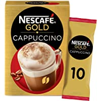 Nescafe Gold Cappuccino Coffee Mix Sachet 17g (10 Sachets)