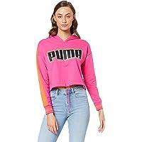 PUMA Women's Rebel Reload Cropped Hoodie