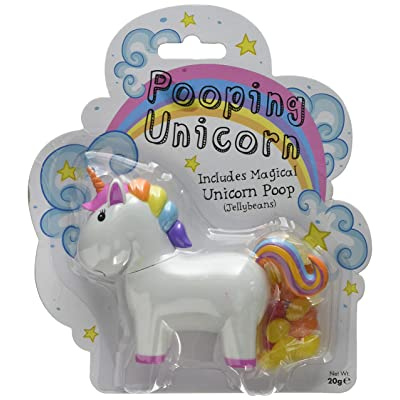 Boxer Gifts Novelty Pooping Unicorn | Poops Out Tasty Jelly Beans | Great Fun For Children: Toys & Games