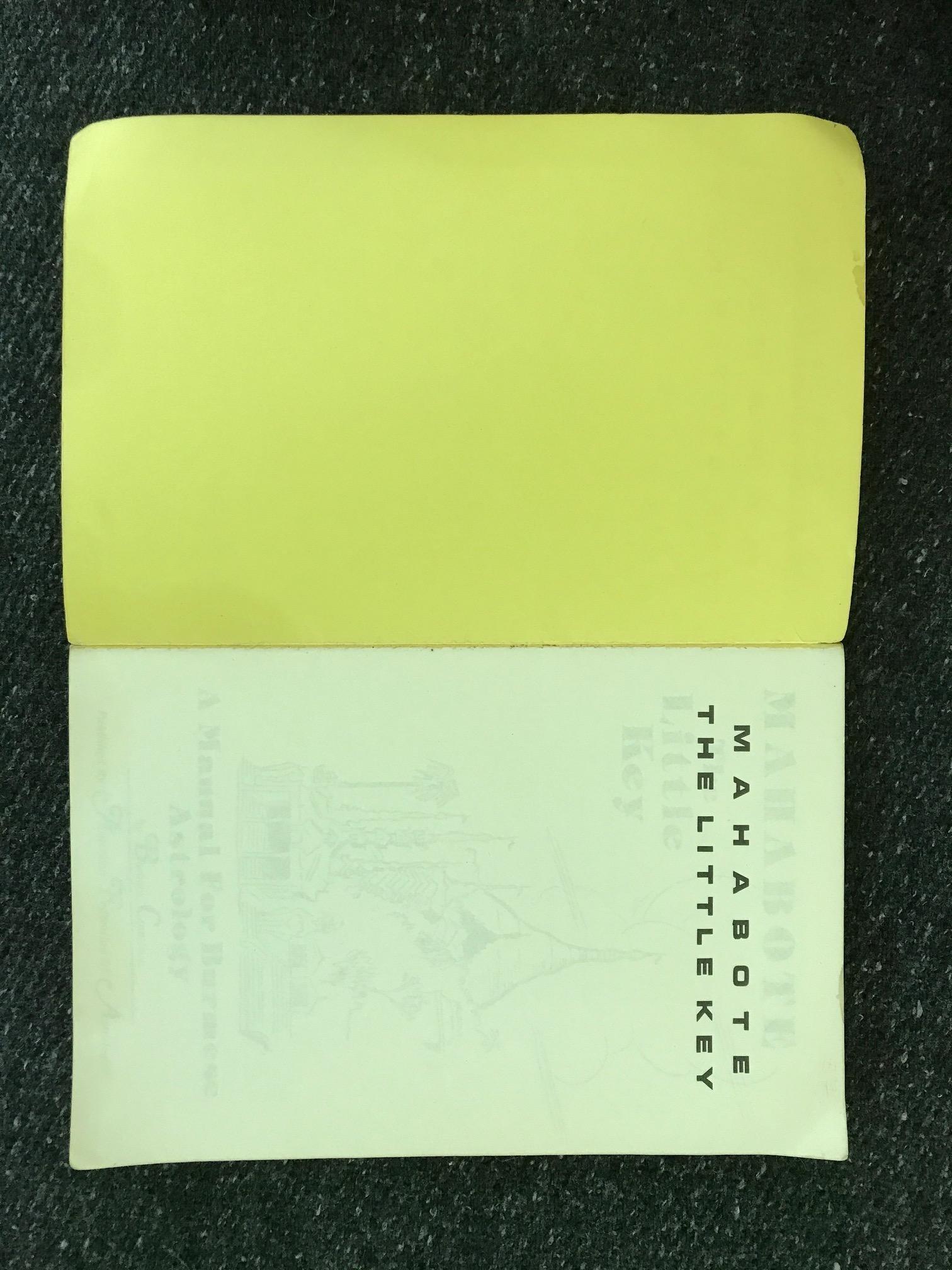 Mahabote, the Little Key: A Manual For Burmese Astrology