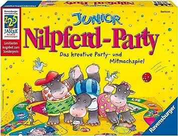 Ravensburger 21867 Nilpferd Party - Juego de Mesa de Creatividad ...