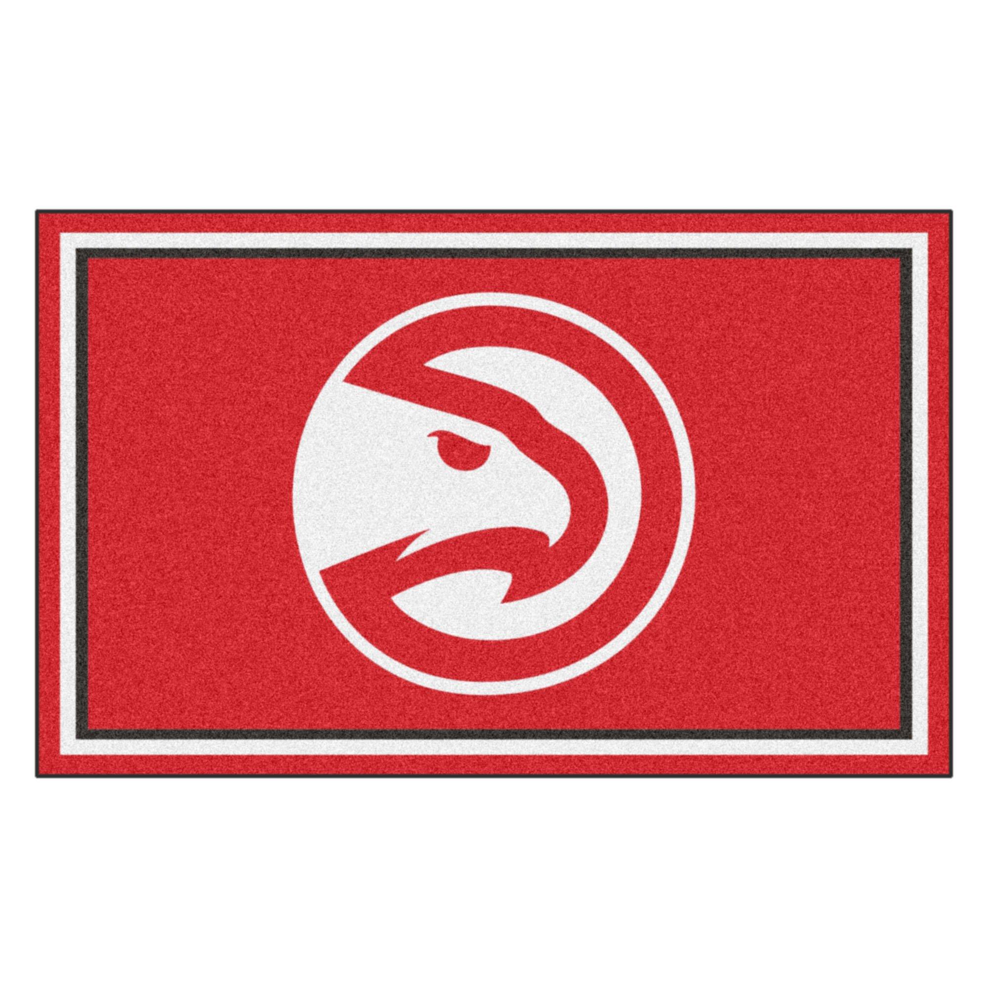 FANMATS 20418 44''x71'' Team Color NBA - Atlanta Hawks Rug