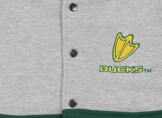 "NCAA Youth Oregon Ducks Horizon /""Var-City/"" Varsity Jacket"