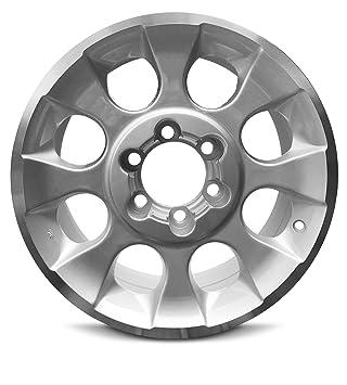Toyota FJ Cruiser (17) borde de aluminio nuevo 17 x 7,5 6