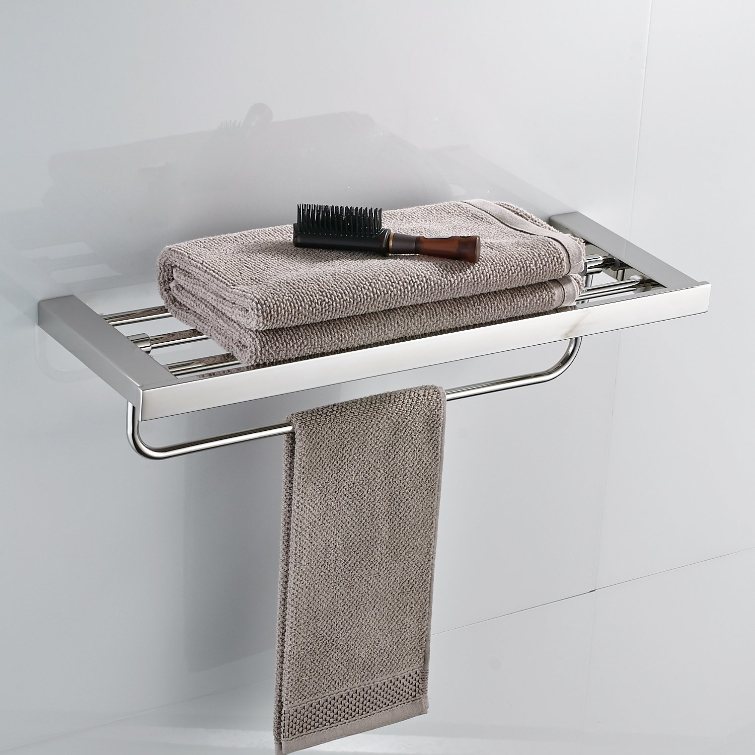 Towel Ring Open with 10 1 2 Inches Bar Rack Paper Towel Holder