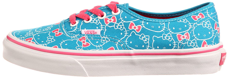 39fdf280e841c5 Vans Authentic (Hello Kitty) Hawaiian Ocean Hot Pink Womens Shoe QER67B  (UK4)  Amazon.co.uk  Shoes   Bags