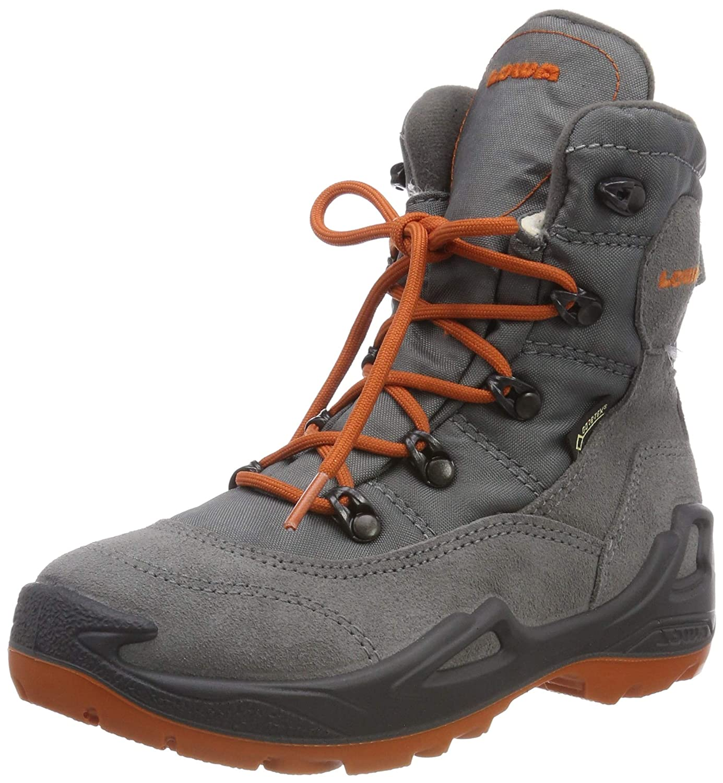 MultiCouleure (gris Orange 9320) Lowa Rufus III GTX Hi, Chaussures d'escalade garçon 31 EU