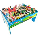 KidKraft 17836 Ride Around Train Set and Table: Amazon.ca: Toys & Games