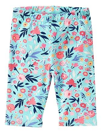 676c9374b44ee Crazy 8 Baby Toddler Girls' Printed Capri Legging, Daydream, 6-12 Months