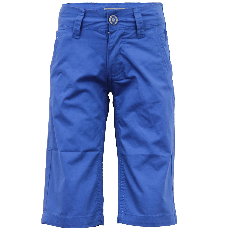 Boys Kids 3 Quarter Chino Cotton Shorts Kids Look