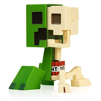 Amazoncom JINX Minecraft Creeper Anatomy Vinyl Figure Kit Toys