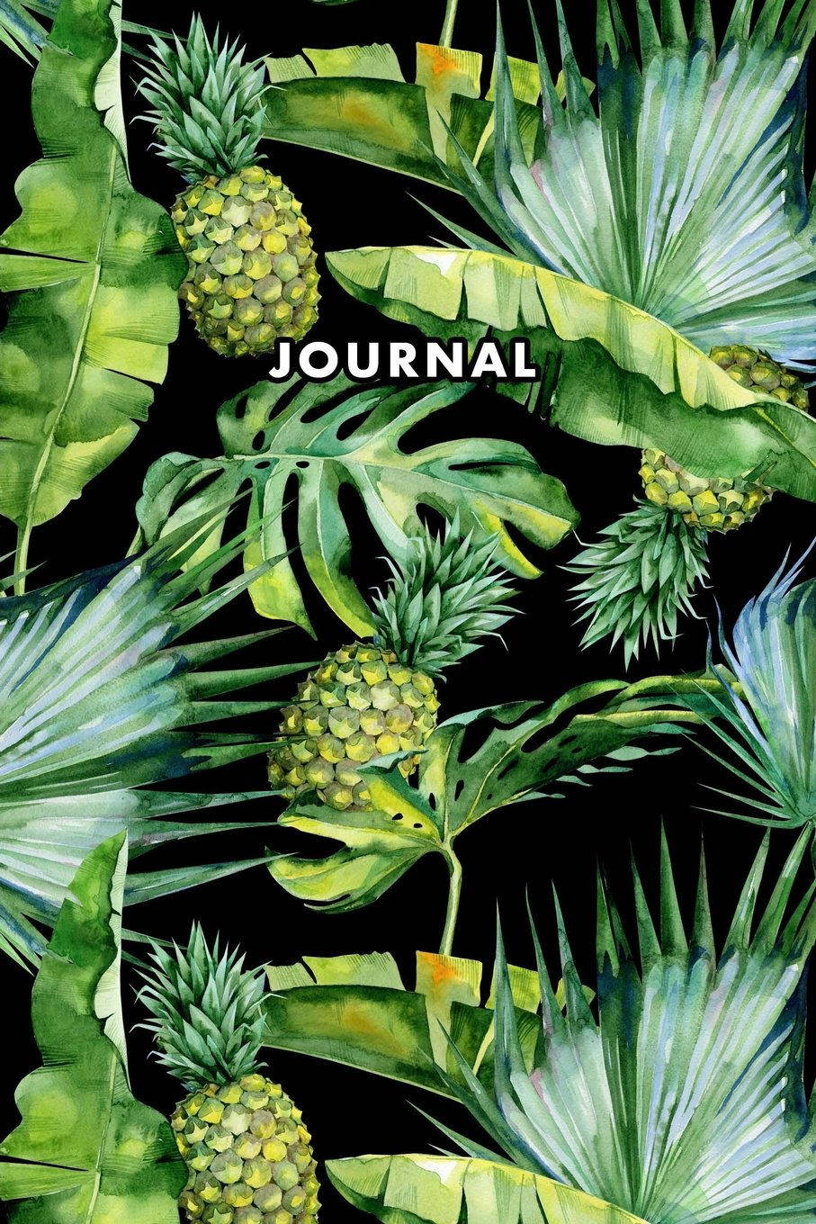 Download Journal: Bullet Journal Tropical Trees Pineapples Watercolor Notebook for Women Girls Dotted Grid Pages Planner Sketchbook Diary (6 x 9) Softbound Cover (Bullet Journals) ebook