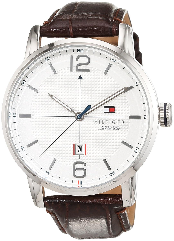 Reloj analógico para hombre Tommy Hilfiger mecanismo de cuarzo diseño clásico correa