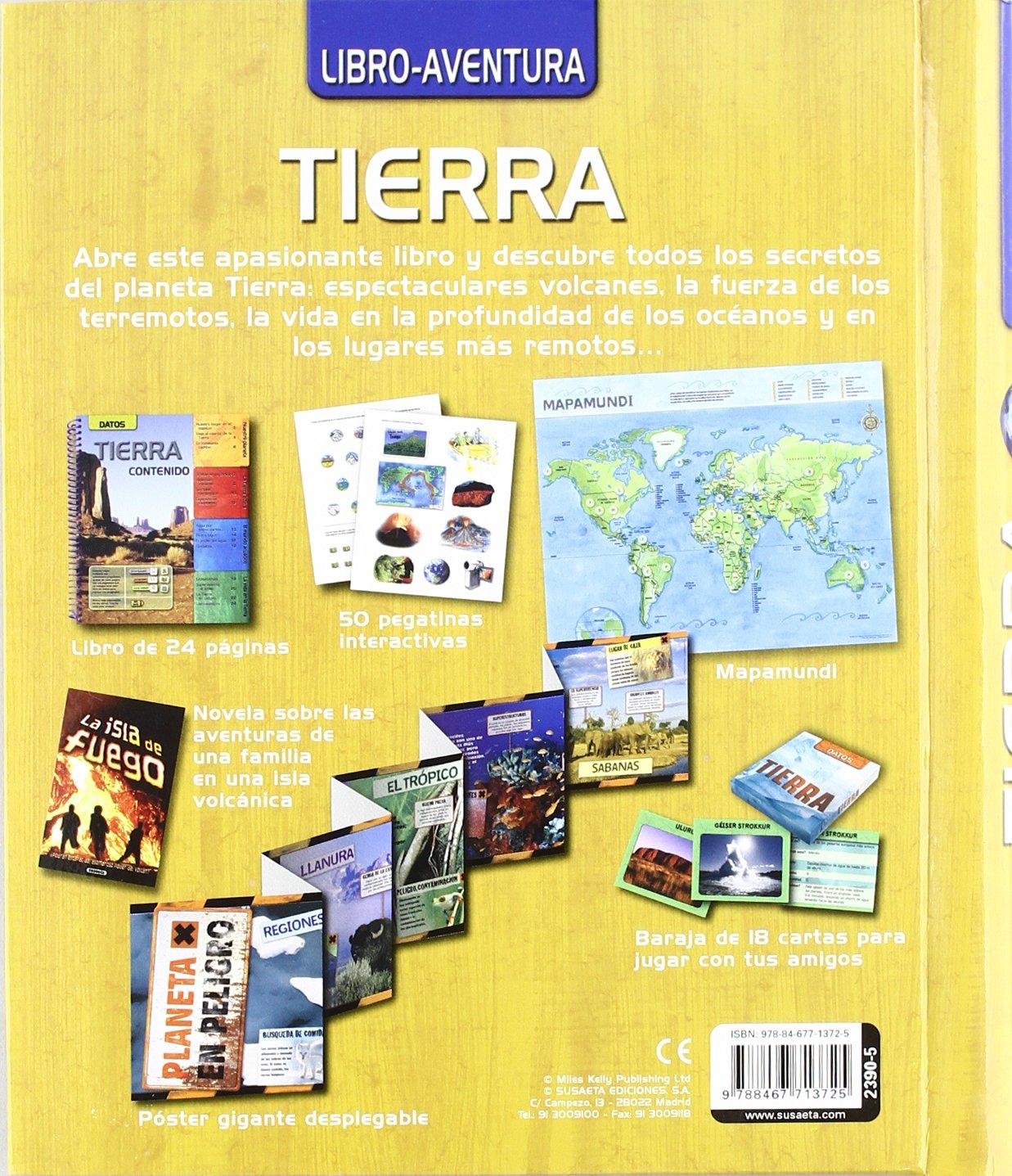 Tierra / Earth (Libro-aventura / Book-adventure) (Spanish ...