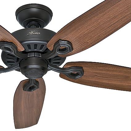 Hunter fan 52 energy star ceiling fan in new bronze 5 blade hunter fan 52quot energy star ceiling fan in new bronze 5 blade certified aloadofball Image collections