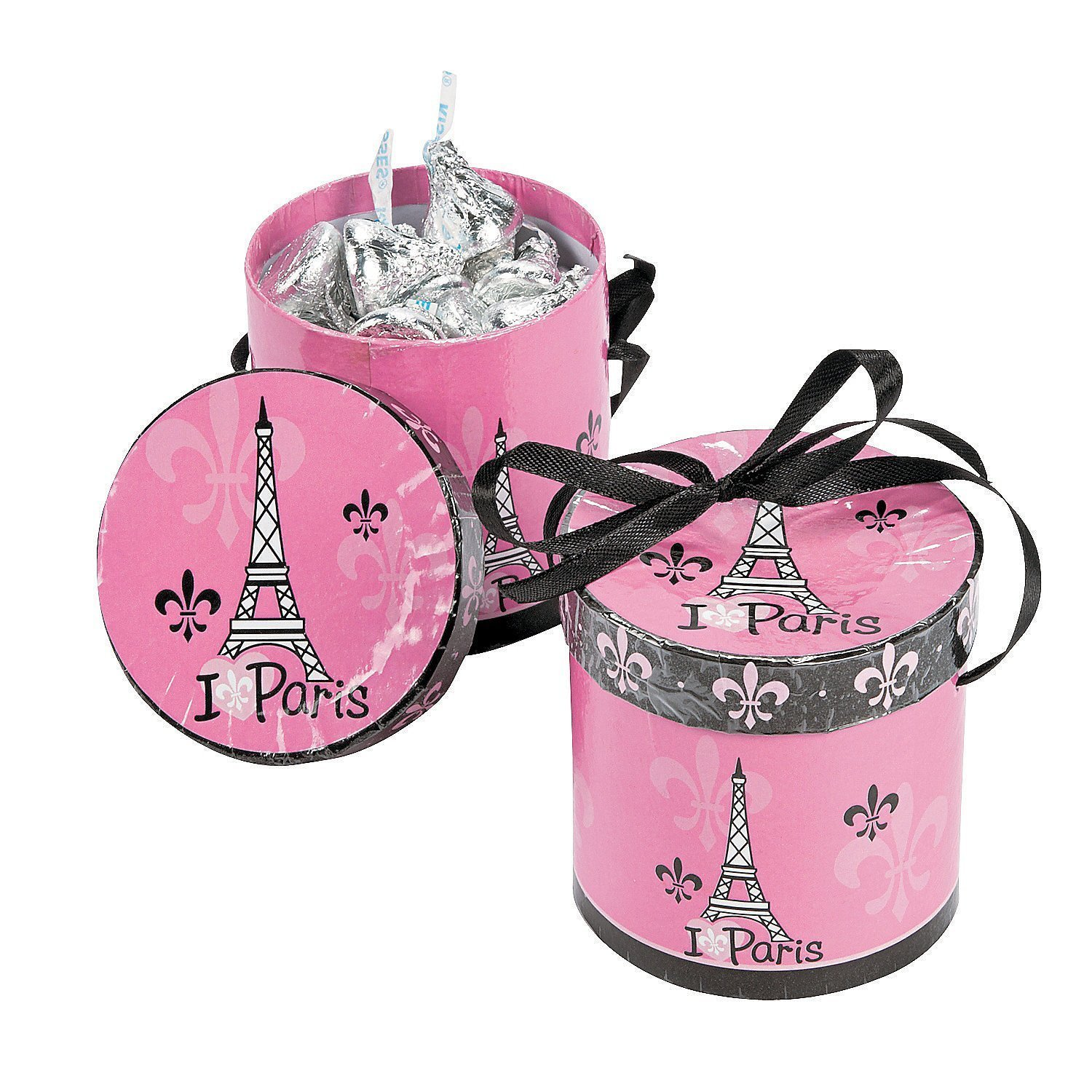 Amazon Com Eiffel Tower Design Mirror Compacts Set Of 24