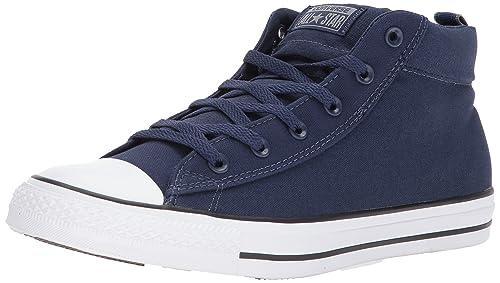 df1f6aa1b4b9b Converse Mens High Street Canvas Mid Sneaker