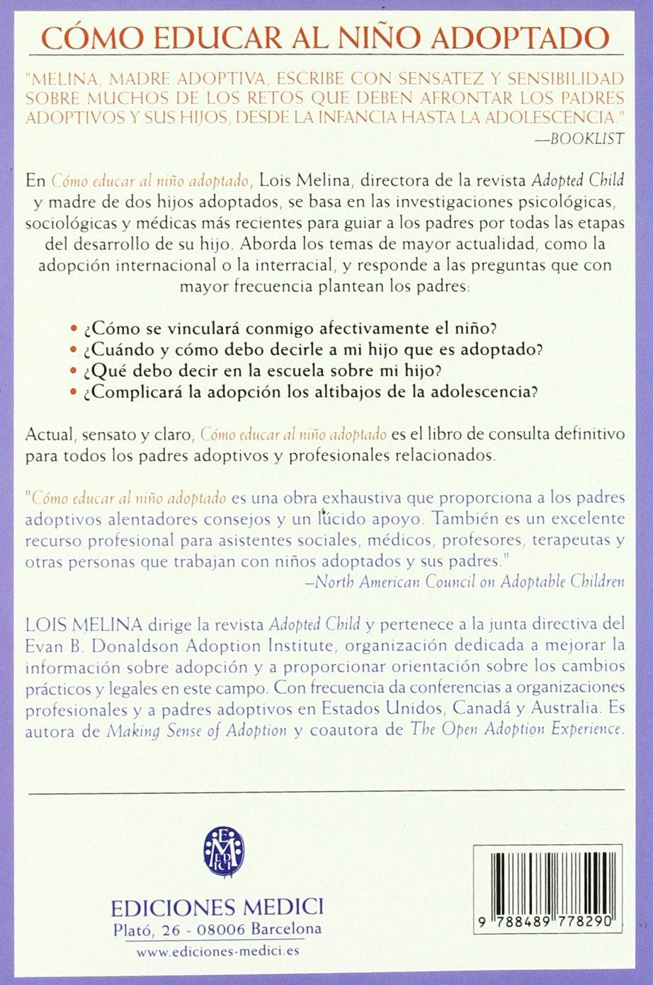 Como Educar Al Nino Adoptado (Spanish Edition) by Omega